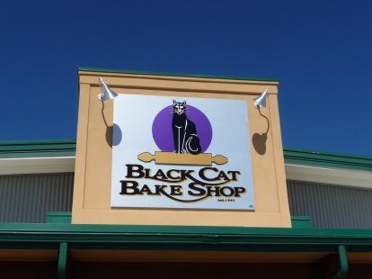 Black Cat sign