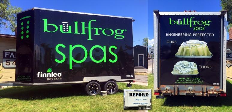 Bullfrog trailer