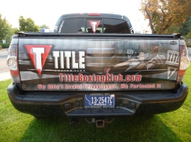 FB Title Boxing tailgate