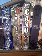 Fside Snowboards wrapped
