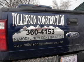 Tollefson chrome tailgate