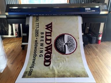 Wild wood brewery banner